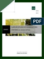 2016-17 Guia Grado Historia Mundo Actual