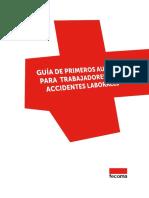 Guia de Primeros Auxilios Para Trabajadores Ante Accidentes Laborales