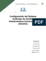 Configuracion Del Sistema Administrativo Sugau