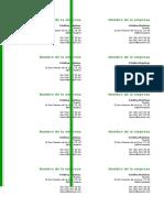 Plantilla Tarjeta de Presentacion