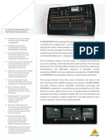 BEHRINGER_X32 P0ASF_Product Information Document