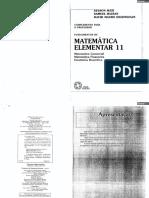 Fundamentos de Matemática Elementar - Volume 11 - Professor.pdf
