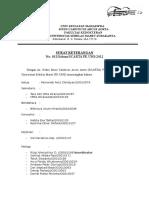 Surat Keterangan Panitia WP