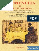 Carmencita o La Buena Cocinera - Eladia M Vda de Carpinell