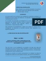 Foro Unidad 2 _ Partes de Una Investigación _ Yudy Díaz