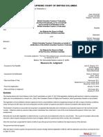 British Columbia Teachers' Federation v. British Columbia,   2014 BCSC 121