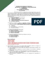 Clave Batería 1, Psiquiatría, 2012