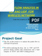 Packet Flow in Tcp and Udp