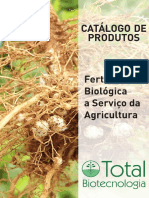 Catálogo de Produtos -Total Biotecnologia - 2016