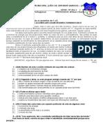 9ano[1] - 30 copias - Gabarito - D.docx