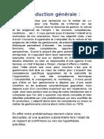 Rapport Metier Et Formation