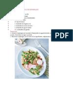 5 Recetas de Cocina