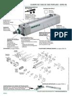 CILINDRO ISO 15552 DE TUBO PERFILADO - SERIE 453