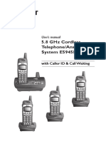 Telephone Answering System E5945B