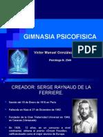 GIMNASIA PSICOFISICA