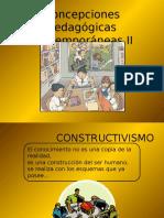 Concepciones Pedagógicas Contemporáneas II (1)