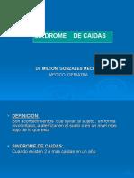 SINDROME CAIDAS