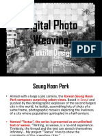 digital photo weaving ppt pdf