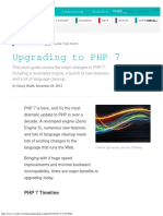 Upgrading to PHP 7 - Oreilly Media