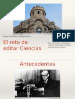 El reto de editar Ciencias