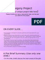 allegory project template