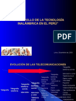 01) Evolucion de Telecomunicaciones Peru