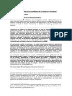2. El Rol Del Estado y su relación con los DDHH
