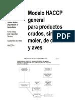 Modelo de HACCP