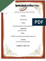 Monografia de Erp- Informatica Aplicada
