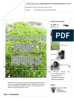 How to Grow_ Peat Moss - All