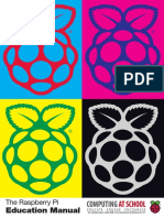Raspberry Pi - Education Manual