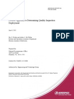 Process Approach to Determining Quality Inspection Deployment