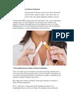 7 Dicas Para Deixar de Fumar Facilmente