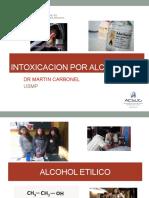 Intoxicacion Por Alcoholes Usmp 2016
