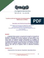 Dialnet-PlanificacionDeSesionesDeEntrenamientoParaJovenesT-4196765
