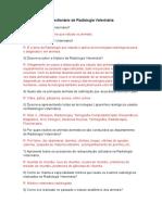 Questionários de Radiologia Veterinária e Radiologia Industrial