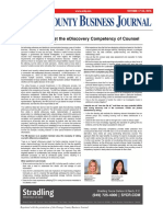 Clients Must Vet the EDiscovery Competency of Counsel