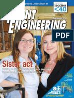 Plant Engineering September 2016 magazine