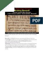 Birthing Beowulf