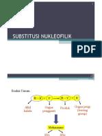 3-SUBSTITUSI NUKLEOFILIK