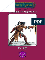 Kineticists of Porphyra III Pathfinder