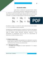 Ecuación Lineal y Cuadrática