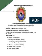 Ley 27444 Procedimiento Administrativo General