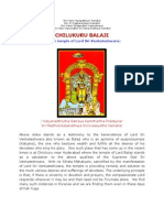 CHILUKURU BALAJI - A rare temple of Lord Sri Venkateshwara