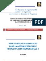 SESION 2 Herramientas Informaticas II para proyectos