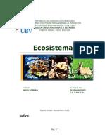 Amenazas de La Biodiversidad
