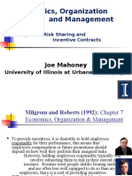 Power Points Sets Milgrom&Roberts Chapter7