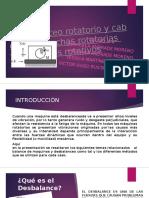 3.2 Desbalanceo Rotatorio y Cabeceo de Flechas Rotatorias y Elementos Rotativos