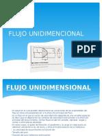 FLUJO UNIDIMENCIONAL