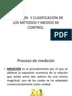 Definición de Clasificación de Los Métodos y Medios